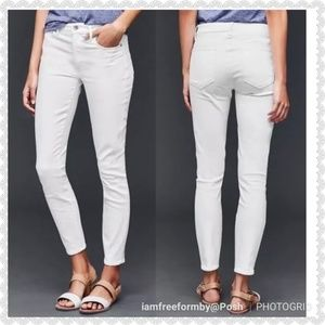 GAP Jeans - Gap 1969 White Legging Jeans